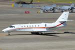 Scotchさんが、名古屋飛行場で撮影した朝日航洋 680 Citation Sovereignの航空フォト(写真)