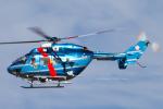 Scotchさんが、名古屋飛行場で撮影した石川県警察 BK117C-1の航空フォト(写真)