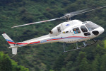 Chofu Spotter Ariaさんが、静岡ヘリポートで撮影した静岡エアコミュータ AS355N Ecureuil 2の航空フォト(写真)