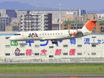 ふじいあきらさんが、福岡空港で撮影したジェイ・エア CL-600-2B19 Regional Jet CRJ-200ERの航空フォト(飛行機 写真・画像)