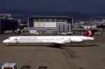 WING_ACEさんが、伊丹空港で撮影したハーレクィンエア MD-81 (DC-9-81)の航空フォト(飛行機 写真・画像)