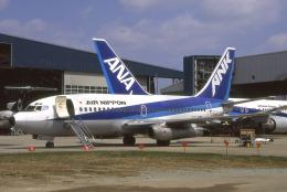WING_ACEさんが、伊丹空港で撮影したエアーニッポン 737-281/Advの航空フォト(飛行機 写真・画像)