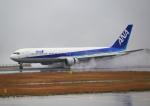 ふじいあきらさんが、広島空港で撮影した全日空 767-381の航空フォト(写真)