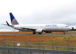 ふじいあきらさんが、広島空港で撮影したコンチネンタル航空 737-824の航空フォト(飛行機 写真・画像)