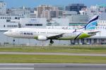 Tomo-Papaさんが、福岡空港で撮影したエアプサン 737-48Eの航空フォト(写真)