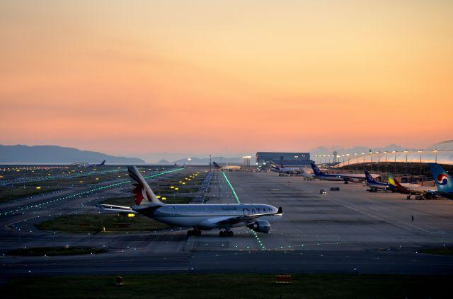 c59さんが、関西国際空港で撮影したカタール航空 A330-202の航空フォト(飛行機 写真・画像)