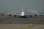RUSSIANSKIさんが、香港国際空港で撮影したブリティッシュ・エアウェイズ A380-841の航空フォト(飛行機 写真・画像)