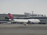 yumingさんが、成田国際空港で撮影したデルタ航空 747-451の航空フォト(飛行機 写真・画像)