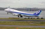 aircanadafunさんが、羽田空港で撮影した全日空 747-481(D)の航空フォト(写真)