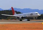 ふじいあきらさんが、広島空港で撮影した日本航空 767-346の航空フォト(飛行機 写真・画像)