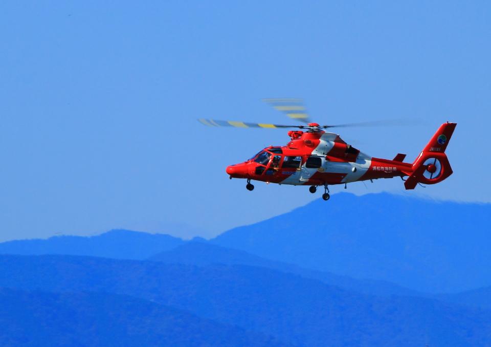 タミーさんの浜松市消防航空隊 Eurocopter AS365/565 Dauphin 2/Panther (JA119X) 航空フォト