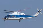 Scotchさんが、名古屋飛行場で撮影した日本法人所有 S-76Cの航空フォト(写真)