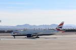 マッカラン国際空港 - McCarran International Airport [LAS/KLAS]で撮影されたブリティッシュ・エアウェイズ - British Airways [BA/BAW]の航空機写真