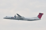 パンダさんが、福岡空港で撮影した日本エアコミューター DHC-8-402Q Dash 8の航空フォト(飛行機 写真・画像)