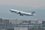 パンダさんが、福岡空港で撮影したキャセイパシフィック航空 A340-313Xの航空フォト(飛行機 写真・画像)