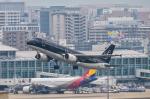 パンダさんが、福岡空港で撮影したスターフライヤー A320-214の航空フォト(写真)