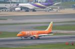 パンダさんが、福岡空港で撮影したフジドリームエアラインズ ERJ-170-200 (ERJ-175STD)の航空フォト(飛行機 写真・画像)