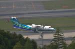 パンダさんが、福岡空港で撮影したオリエンタルエアブリッジ DHC-8-201Q Dash 8の航空フォト(写真)