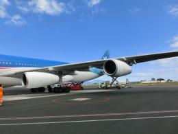 ぬーぼーさんが、ファアア国際空港で撮影したエア・タヒチ・ヌイ A340-313Xの航空フォト(飛行機 写真・画像)