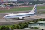 Hikobouzさんが、台北松山空港で撮影した中華民国空軍 737-8ARの航空フォト(飛行機 写真・画像)
