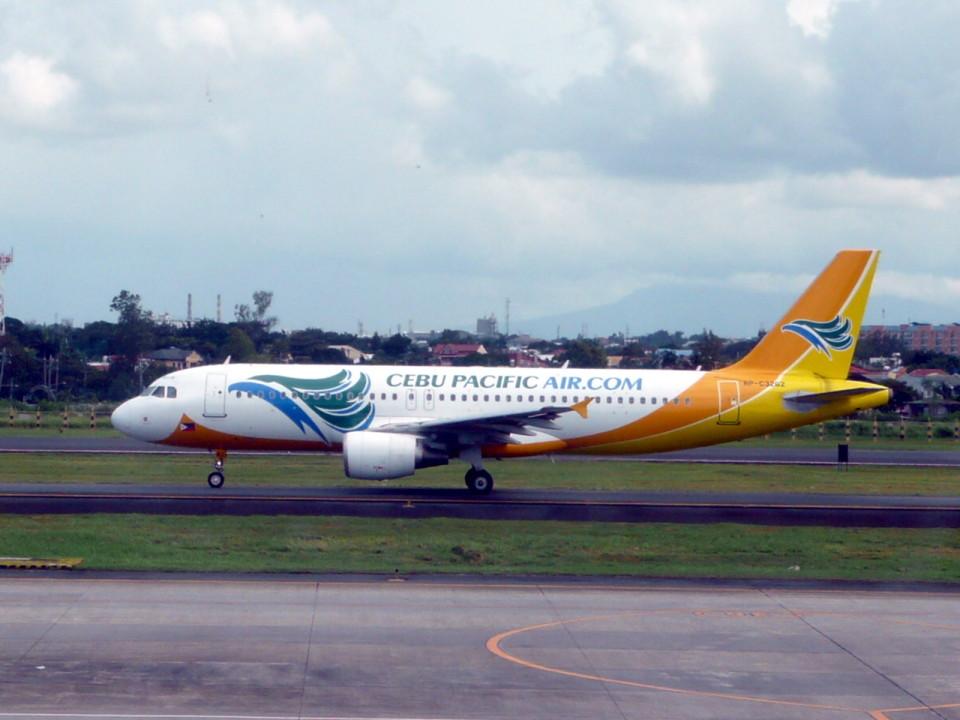 wrbluebl5さんのセブパシフィック航空 Airbus A320 (RP-C3262) 航空フォト