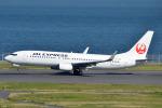 Peter Hoさんが、羽田空港で撮影した日本航空 737-846の航空フォト(写真)