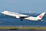 Peter Hoさんが、羽田空港で撮影した日本航空 767-346/ERの航空フォト(写真)