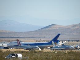 Darrenさんが、モハーヴェ空港で撮影したボーイング エアクラフト ホールディング カンパニー 747SR-81の航空フォト(飛行機 写真・画像)
