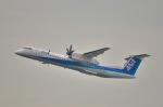 パンダさんが、福岡空港で撮影したANAウイングス DHC-8-402Q Dash 8の航空フォト(飛行機 写真・画像)