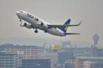 パンダさんが、福岡空港で撮影したスカイマーク 737-86Nの航空フォト(飛行機 写真・画像)