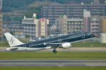 パンダさんが、福岡空港で撮影したスターフライヤー A320-214の航空フォト(飛行機 写真・画像)