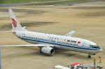 パンダさんが、福岡空港で撮影した中国国際航空 737-808の航空フォト(飛行機 写真・画像)