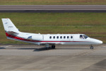 Scotchさんが、名古屋飛行場で撮影した朝日航洋 560 Citation Ultraの航空フォト(写真)