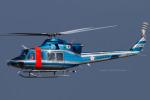 Scotchさんが、名古屋飛行場で撮影した愛知県警察 412EPの航空フォト(写真)