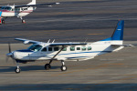 Scotchさんが、名古屋飛行場で撮影した学校法人ヒラタ学園 航空事業本部 208B Grand Caravanの航空フォト(飛行機 写真・画像)