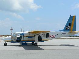 やんばるねこさんが、慶良間空港で撮影した琉球エアーコミューター BN-2B-20 Islanderの航空フォト(飛行機 写真・画像)