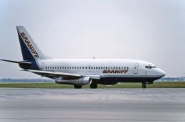 Gambardierさんが、オーランド国際空港で撮影したブラニフ航空 737-247の航空フォト(飛行機 写真・画像)
