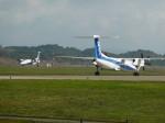 info-skyさんが、秋田空港で撮影したANAウイングス DHC-8-402Q Dash 8の航空フォト(飛行機 写真・画像)
