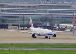 ふじいあきらさんが、羽田空港で撮影したチャイナエアライン A330-302の航空フォト(飛行機 写真・画像)