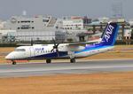 ふじいあきらさんが、伊丹空港で撮影したANAウイングス DHC-8-314Q Dash 8の航空フォト(飛行機 写真・画像)