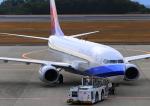 ふじいあきらさんが、広島空港で撮影したチャイナエアライン 737-8Q8の航空フォト(写真)