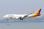 NH642さんが、香港国際空港で撮影したエアパック・エアラインズ 747-412の航空フォト(写真)