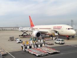 おじゃるまるさんが、関西国際空港で撮影したエア・インディア 787-8 Dreamlinerの航空フォト(飛行機 写真・画像)