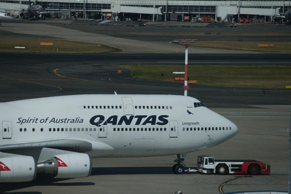 m-takagiさんのカンタス航空 Boeing 747-400 (VH-OEJ) 航空フォト