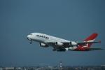 m-takagiさんが、シドニー国際空港で撮影したカンタス航空 A380-842の航空フォト(飛行機 写真・画像)