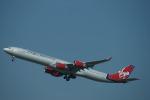 m-takagiさんが、シドニー国際空港で撮影したヴァージン・アトランティック航空 A340-642の航空フォト(飛行機 写真・画像)