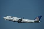 m-takagiさんが、シドニー国際空港で撮影したユナイテッド航空 747-422の航空フォト(写真)