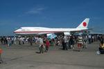 夏奈さんが、千歳基地で撮影した航空自衛隊 747-47Cの航空フォト(写真)