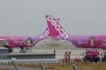 しんうえもんさんが、関西国際空港で撮影したピーチ A320-214の航空フォト(写真)