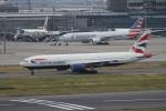 肉食獣さんが、羽田空港で撮影したブリティッシュ・エアウェイズ 777-236/ERの航空フォト(写真)
